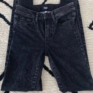 Paige black skinny jeans